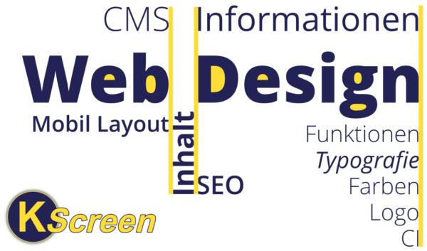Moodboard: Webdesigner gesucht mit Logo